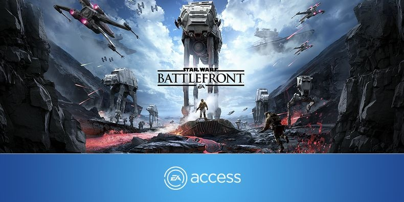 Star Wars Battlefront I, II, III: Ранний доступ к Star Wars: Battlefront для подписчиков EA Access