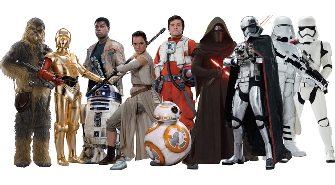 Star Wars 7: The Force Awakens: Star Wars: The Force Awakens: Promo-pics characters of #TheForceAwakens in HQ