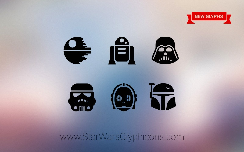 Фэндом: Star Wars GlyphIcons