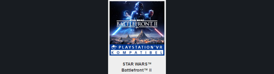 Star Wars Battlefront I, II, III: Слух: в Star Wars Battlefront 2 будет контент для PS VR