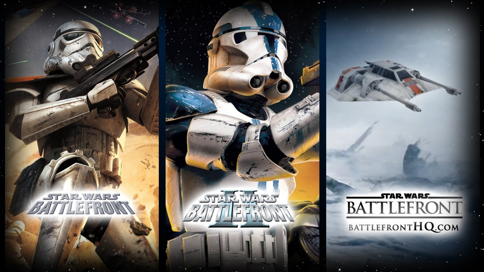 Star Wars Battlefront I, II, III: История серии Star Wars: Battlefront