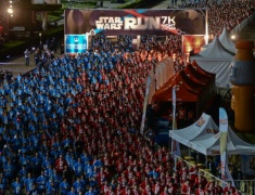 STAR WARS DAY: MAY THE 4TH BE WITH YOU в Gardens by the Bay в Сингапуре